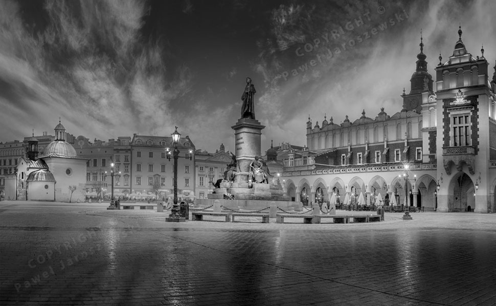 The Main Square in Cracow
